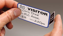 TAB-Expiring Visitor Badge
