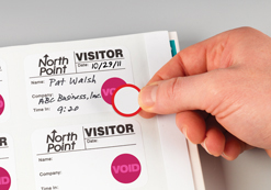 DOT-Expiring Visitor Badge