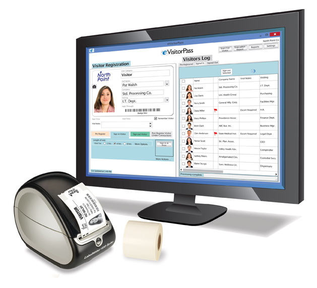 eVisitorPass Visitor Management Software for Government Agencies