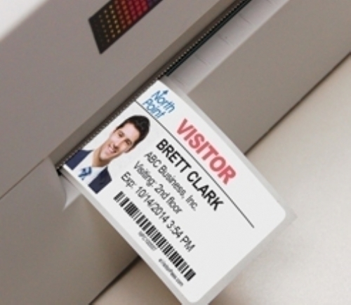 Time-Expiring Visitor Badges for Inkjet Printers